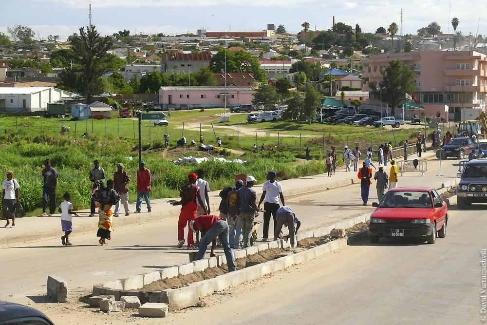 Ангола, Лубанго и окрестности