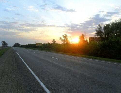 А вот и Солнце, рассвет в пути ... SAM_8088.JPG