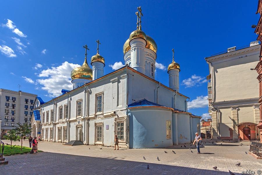 Казань, Богоявленский собор