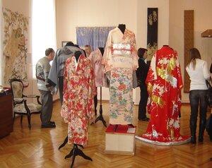открытие выставки кимоно в Оренбурге