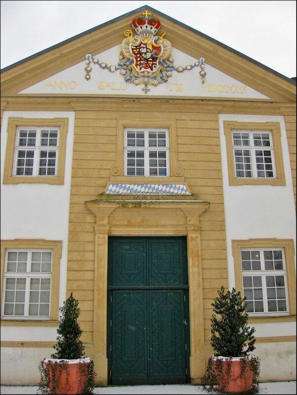 Герб в замке Нойхауз