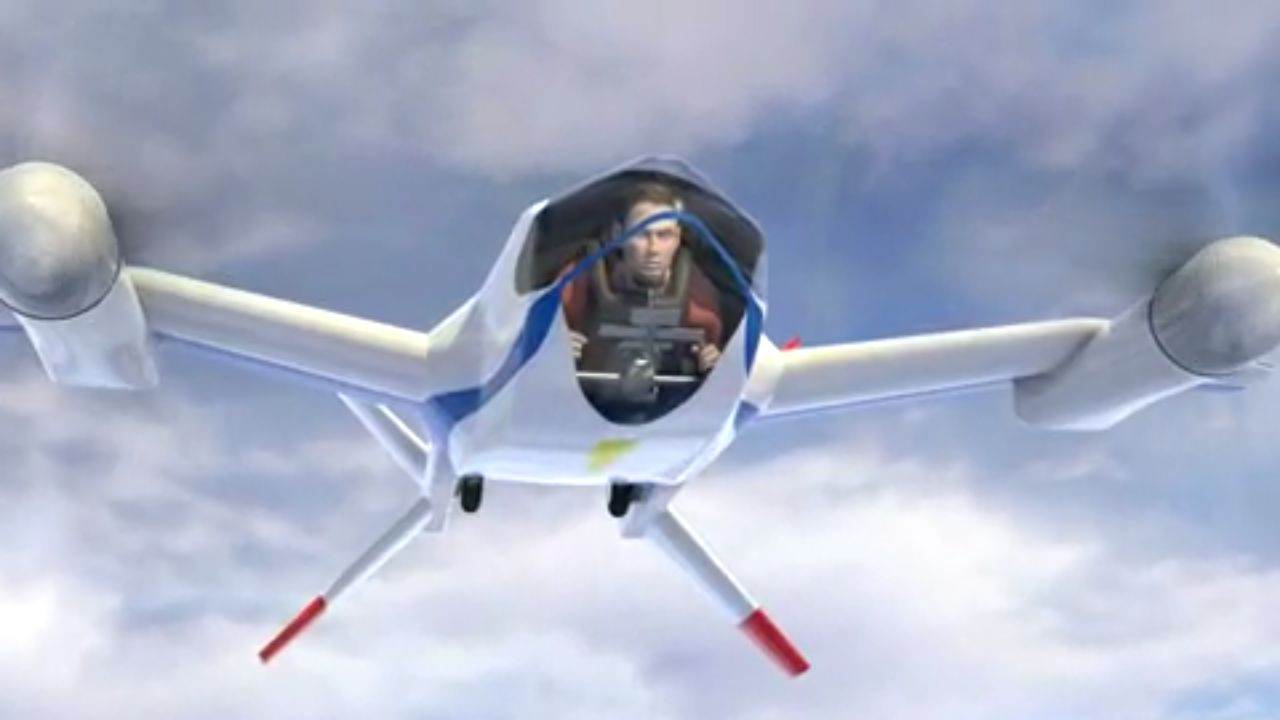 NASA Puffin personal electric aircraft concept  New Atlas