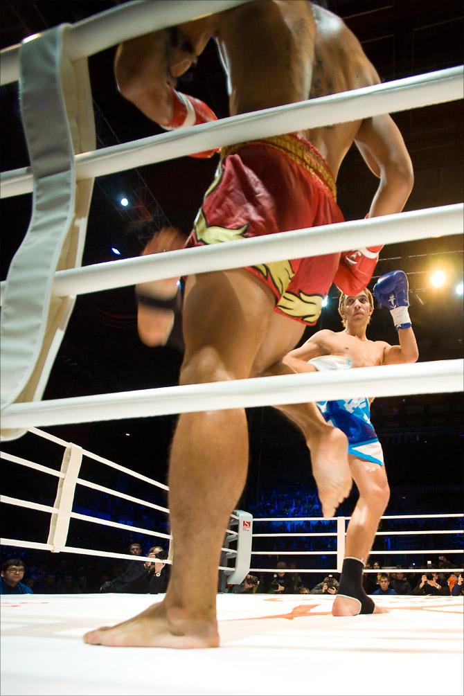 Битва чемпионов. Фотограф Кирилл