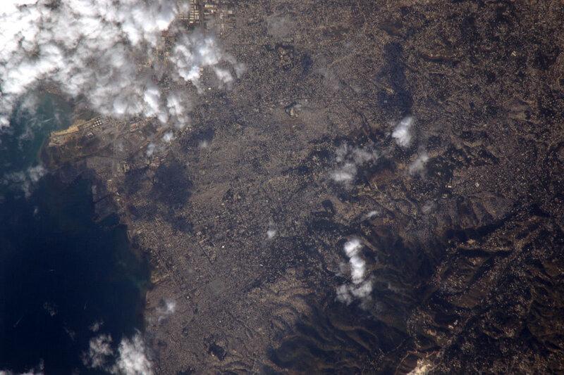 Порт-о-Пренс, по состоянию на 3 февраля. Через три недели после землетрясения.