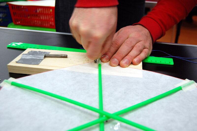 Мастер-класс по изготовлению воздушных бермудских змеев