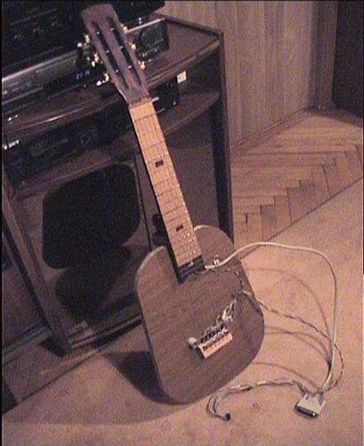 Необычная гитара своими руками - Shkafs-kupe.ru