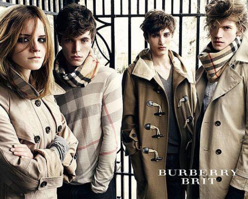 Burberry - истинно английская клеточка.