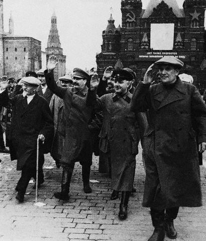 Встреча челюскинцев, 1933
