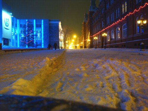 Астрахань,Новый Год-2009,областная администрация
