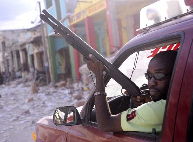 Анархия на Гаити