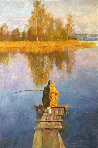Fisherman up