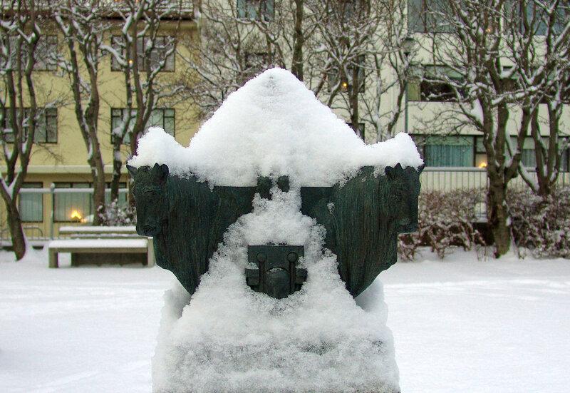 Царь Атлантиды (в снегах Исландии)