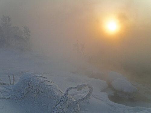 Солнце и мороз