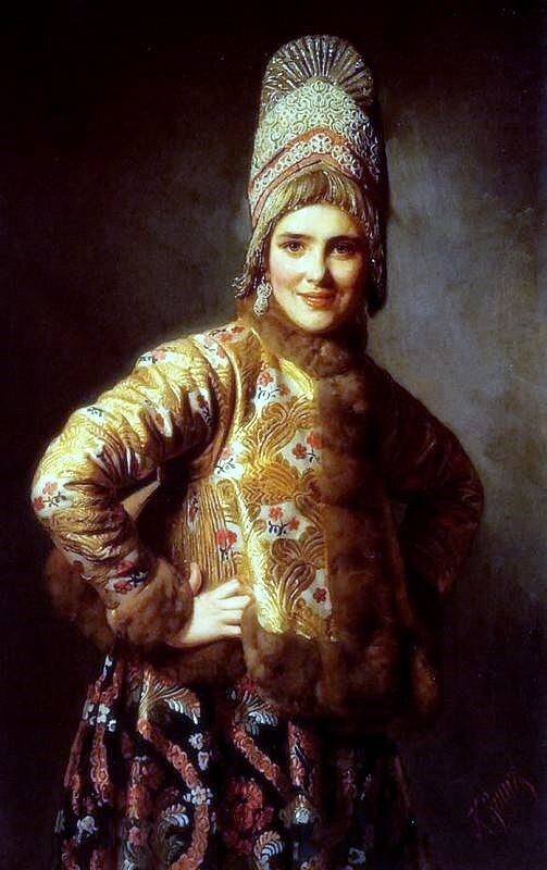 KB Wenig Russkaya Devushka