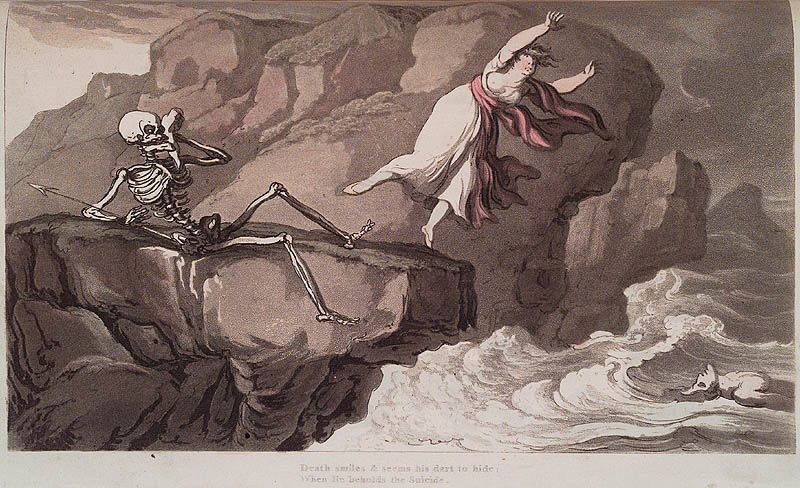 Английская пляска смерти. Thomas Rowlandson. The English Dance of Death. London : R. Ackermann, 1815. Page 0.21.