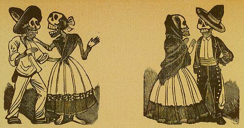 Coloquio de buenas calaveras. Jose Guadalupe Posada. Monografia; las Obras de Jose Guadalupe Posada. n.c. : n.p., 1930. Page 178.