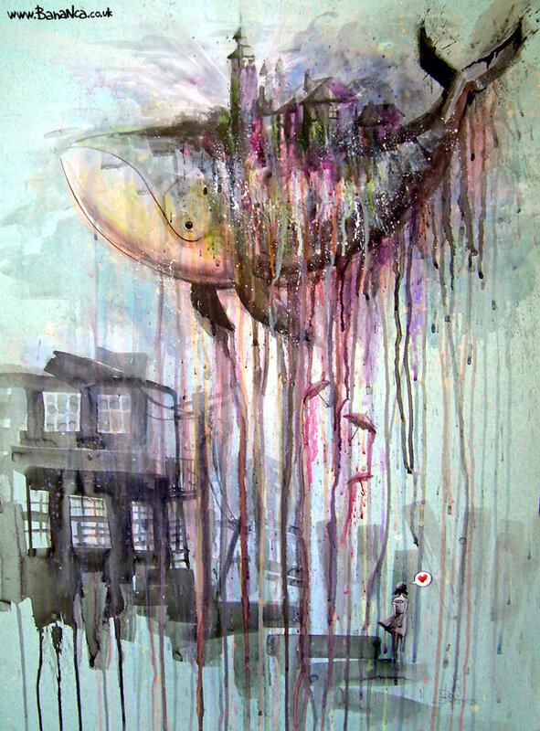 рисунки Lora Bananca