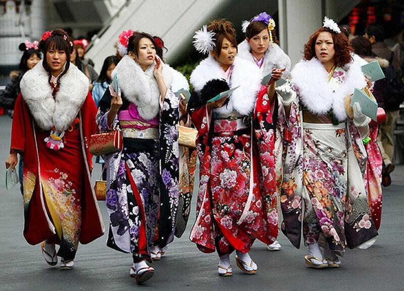 японский праздник совершеннолетия