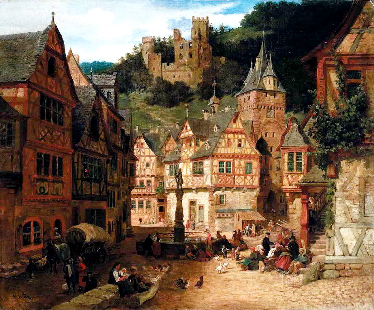 картинки средневековья домашних что