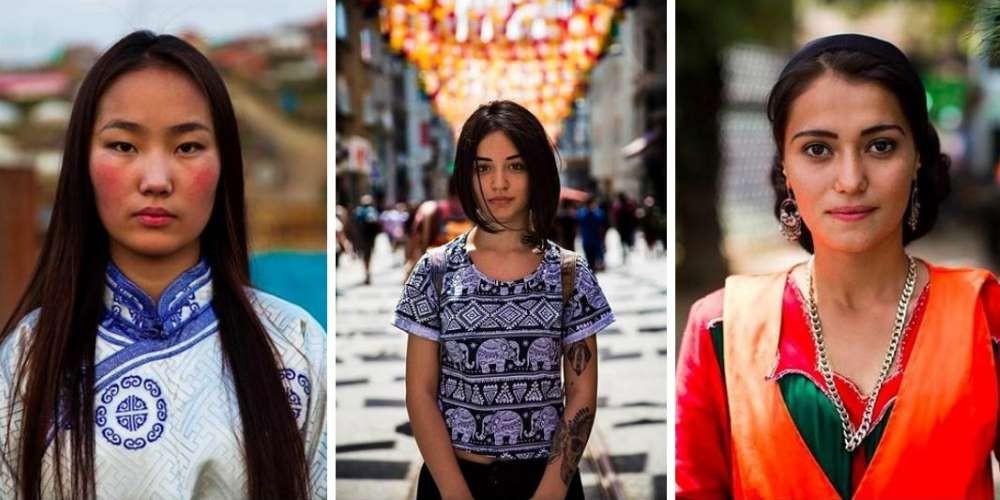 Девки разных национальностей фото 248-685