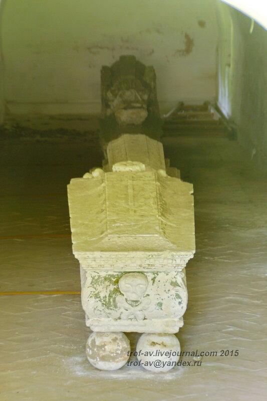 Древние надгробия Новодевичьего монастыря, Москва