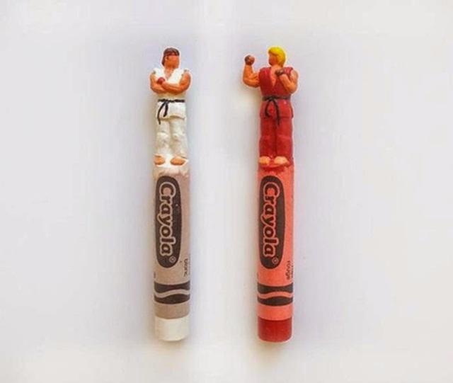 Известные персонажи, вырезанные на кончике карандашей 0 12d106 8641faf8 orig