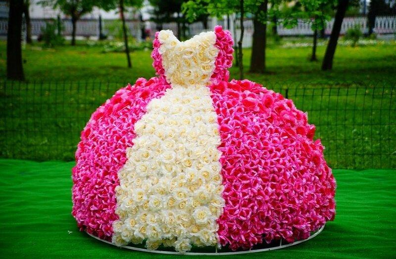 Праздник цветов в Твери