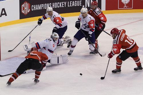 Гродненский «Неман» проиграл «Маннгейму» в матче хоккейной Лиги чемпионов