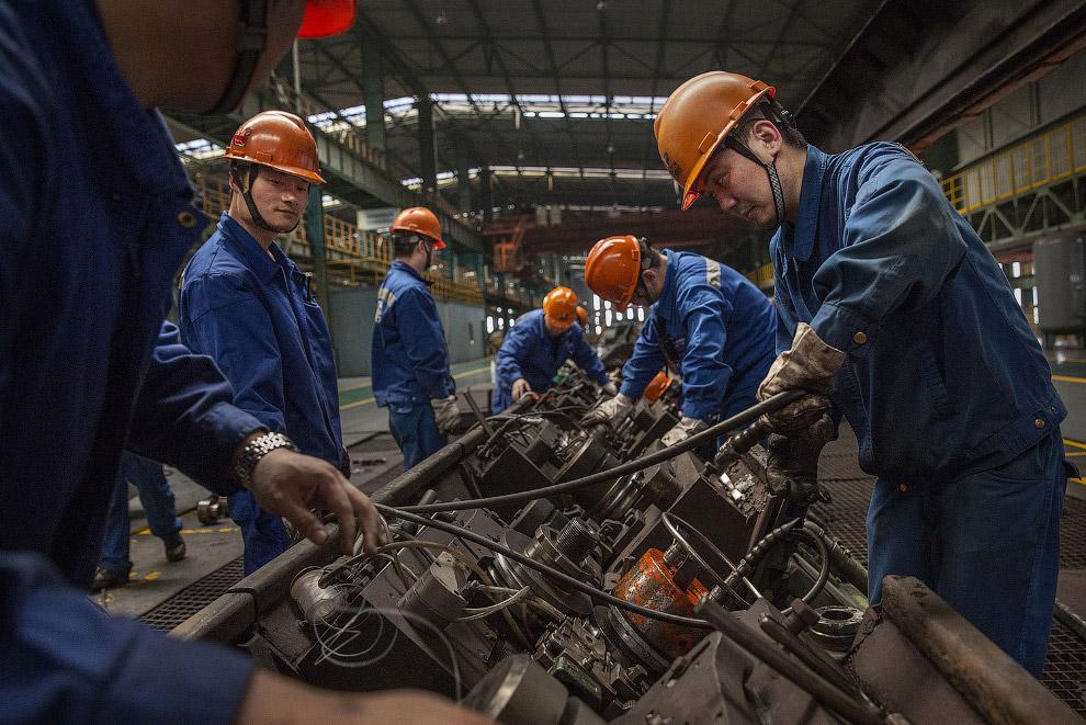 11. Заброшенные сталелитейные заводы выглядят не менее антуражно. В Китае их называют «зомби-фабрика