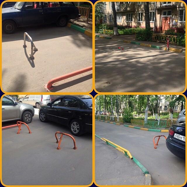 Самые наглые водители, асфальтируют под парковку газоны