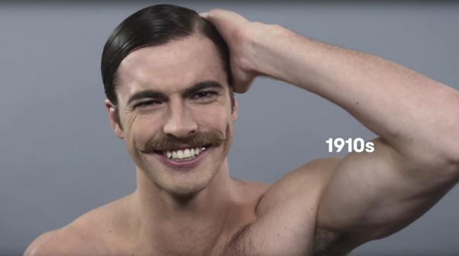 Как изменились стандарты мужской красоты запоследние сто лет (11 фото)
