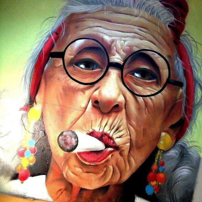 Уличный художник ManuManu.