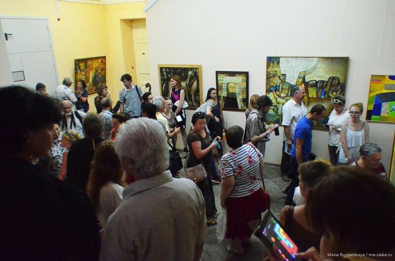 Нико Пиросмани / Западноевропейское искусство XVI – XIX веков, Радищевский музей, 25 июня 2015 года
