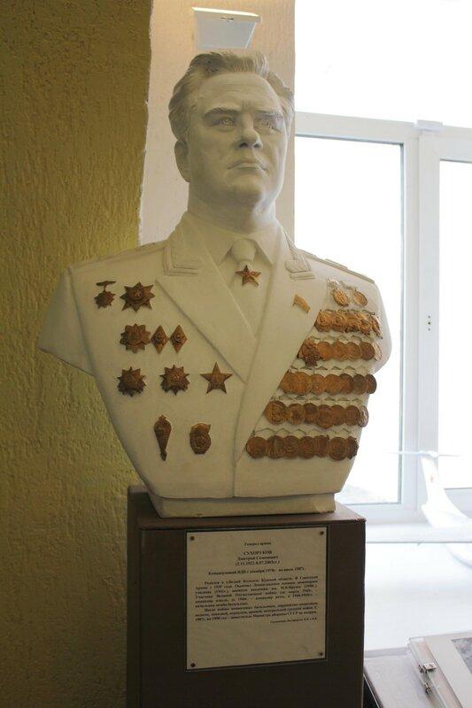 Генерал армии СУХОРУКОВ Дмитрий Семёнович