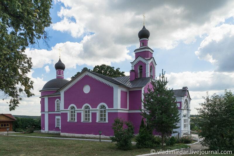 Крестовоздвиженская церковь. Крестовоздвиженский монастырь.