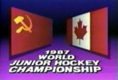 Хоккей. СССР - Канада. 1987.Молодежный чемпионат мира .