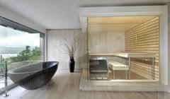 Живое тепло деревянной ванны