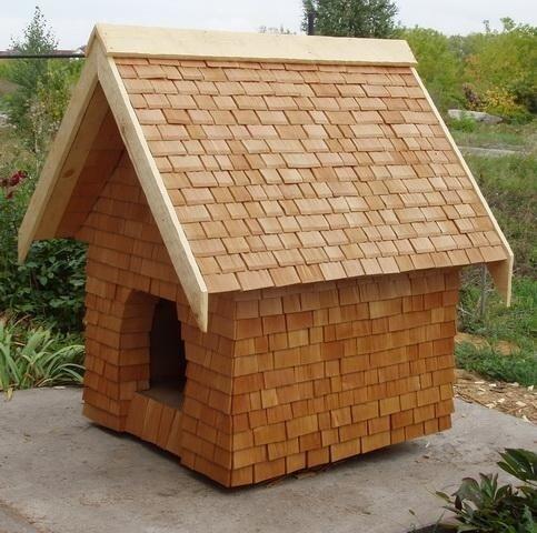 Добротные будки для собак и деревянные домики для кошек - будка для...