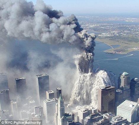 Рассекречены фотографии теракта 11 сентября 2001