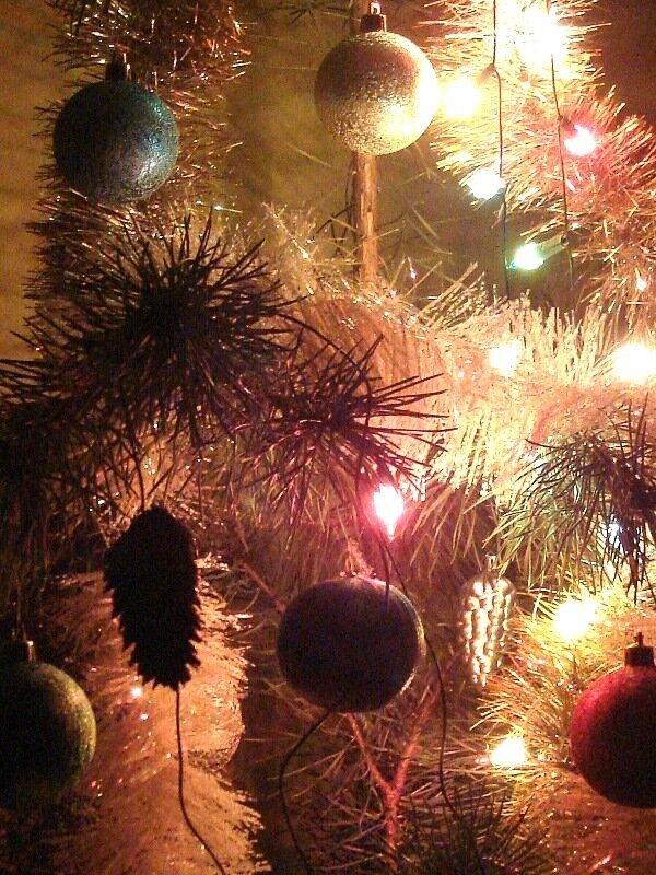 Зимние праздники, огни
