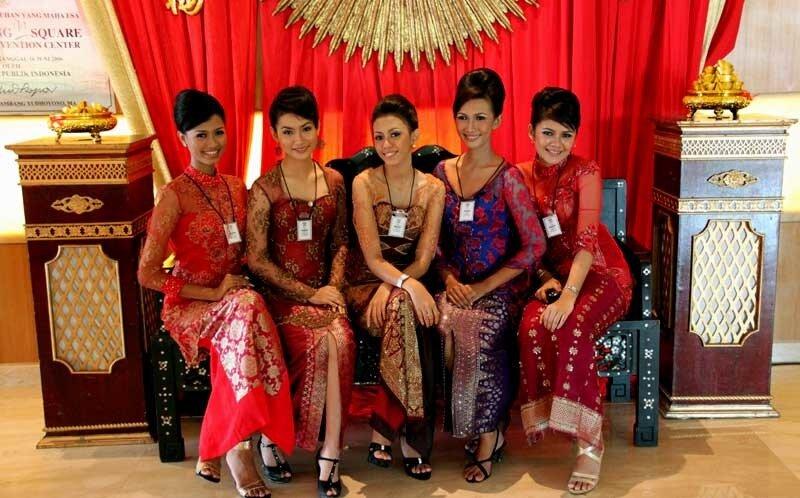 Палембангские красавицы