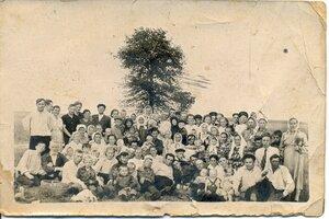 Жители д.Чет, 1957 год