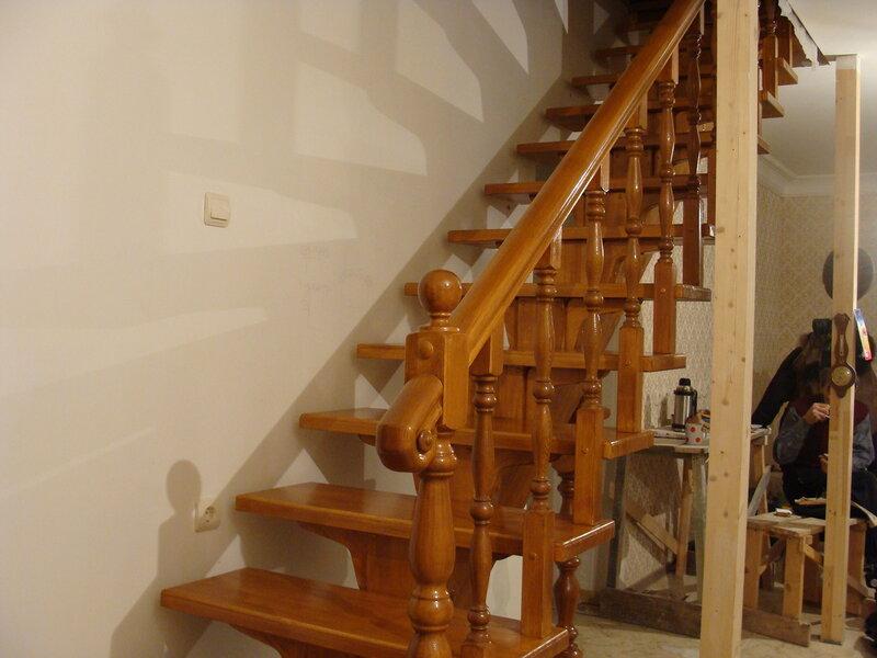 Строим загородный дом! Часть 2. Воздушная лестница