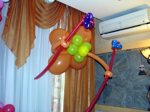 шары с гелием в Москве