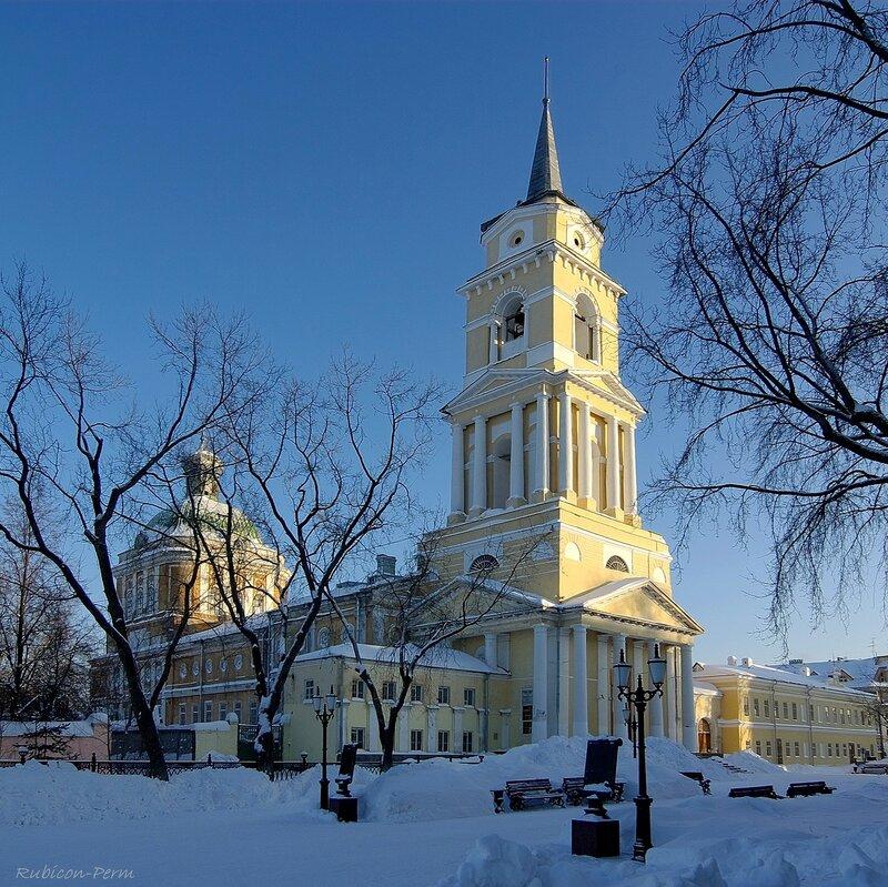 Пермь. Преображенский собор