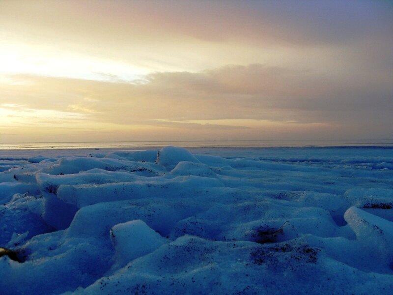 Лёд Ахтарского залива (10)