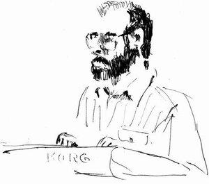 тапёр Юрий Поляков, рисунок 1999 года