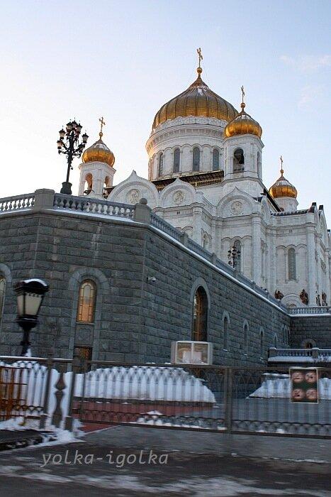 Москва. Февраль