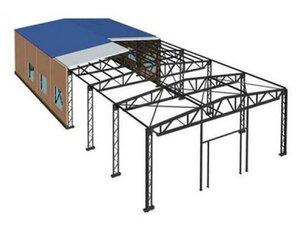 Строительство сегодня основано на быстровозводимых зданиях