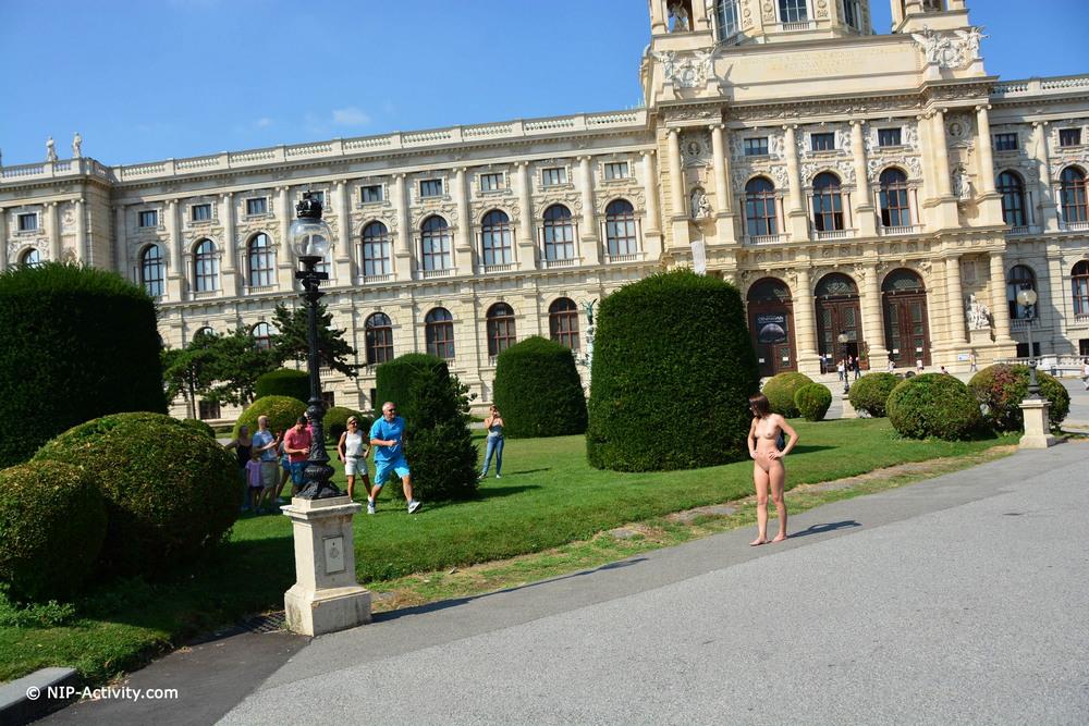 Обнаженная Aiko May в Вене